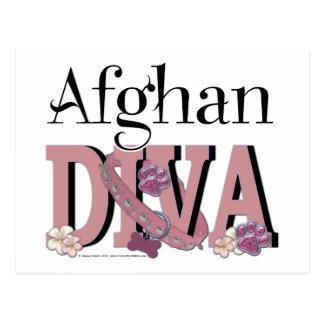 Afghanische DIVA Postkarte