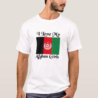 Afghanische Mädchen T-Shirt