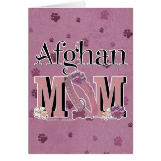 Afghanische MAMMA Karte