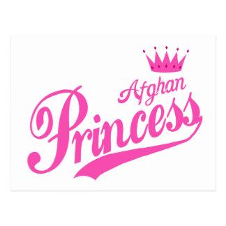 Afghanische Prinzessin Postkarte