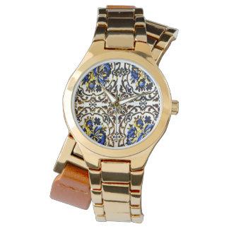 Afghanischer Bedcover Uhr