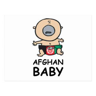 Afghanisches Baby Postkarte