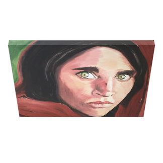 Afghanisches Mädchen Leinwanddruck