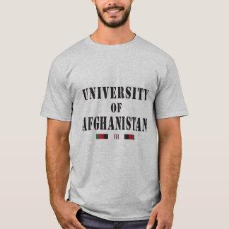 Afghanisches Veteranenschablone-Schädel-Shirt T-Shirt