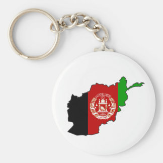 Afghanistan-Flaggen-Karte Schlüsselanhänger