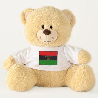 Afrika-Flagge färbt Teddybären