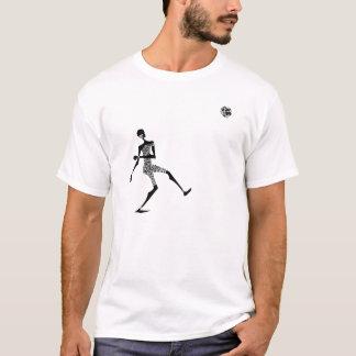 Afrika für Afrika Bonk vorbei - Mchezo Schwarzes T-Shirt