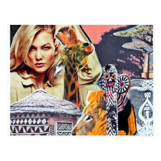Afrika Postkarte