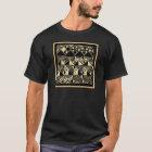 Afrikaner-Kuba inspirierte Entwürfe T-Shirt