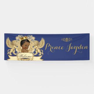Afrikanische Babyparty-Fahne Prinz-Royal