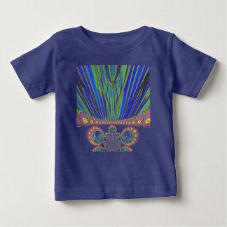 Afrikanische dekorative Farben des modernen Baby T-shirt