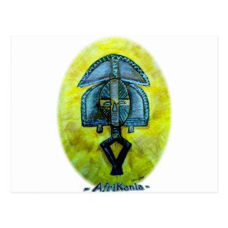 Afrikanische Ikone: Kota (Gabun) Postkarte