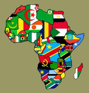 Bildergebnis für Afrika flaggen