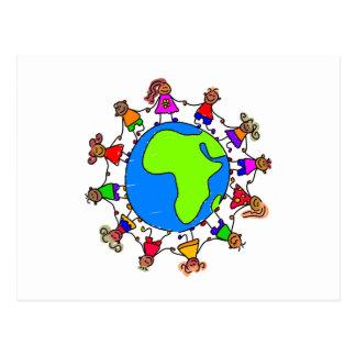 Afrikanische Kinder Postkarte