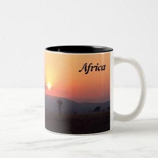 Afrikanische Tasse