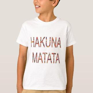 Afrikanische Vintage Farben Hakuna Matata.jpg T-Shirt