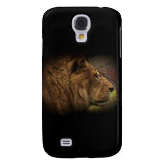 Afrikanische wilde Löwe-große Katzen-Tier-Grafik Galaxy S4 Hülle