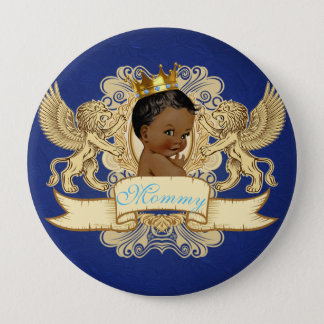 Afrikanischer Babyparty-Knopf Prinz-Royal