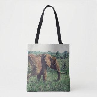 Afrikanischer Elefant-Taschen-Tasche Tasche