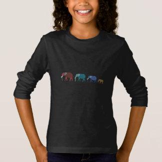 Afrikanischer Elefant-Weg T-Shirt