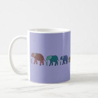 Afrikanischer Elefant-Weg Tasse