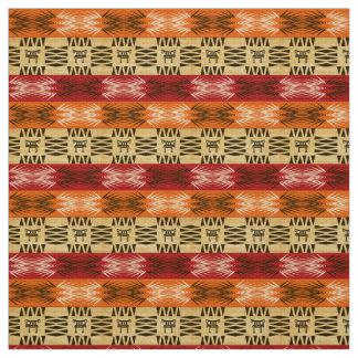 afrikanisches ethnisches Muster Stoff