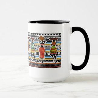 Afrikanisches Fest Tasse