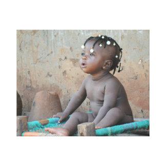 Afrikanisches Kind Gespannte Galerie Drucke