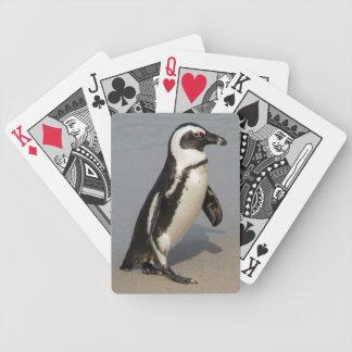 Afrikanisches Pinguin-Gehen Bicycle Spielkarten