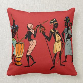 Afrikanisches Stammes- Kunst-Wurfskissen Kissen