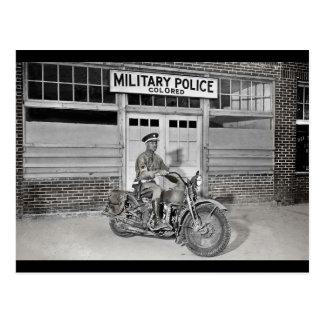 Afroamerikaner-Militärpolizei Postkarte
