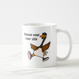 AG, geben Sie Ihr inneres albernes - Gans frei Kaffeetasse