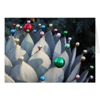 Agaven-Weihnachtskarte durch Debra-Lee Baldwin Grußkarte