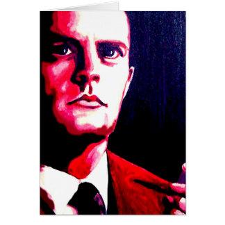 Agent-Fassbinder-Zwilling ragt Karte Lynch Kyles