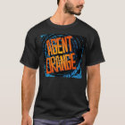 "Agent orange Punk""SpinArt"" Logo-T - Shirt"