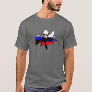 Agent Putin mit Karte T-Shirt