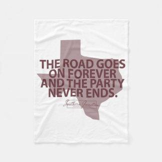Aggies- die Straße geht auf Forever-Fleece-Decke Fleecedecke