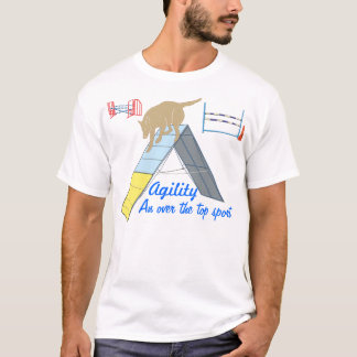 Agilité au-dessus du T-shirt supérieur