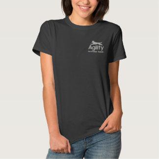 Agility-australischer Kelpie gesticktes Shirt Besticktes Polohemd