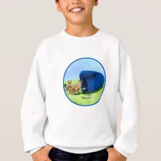 Agility-Tunnel - säubern Sie Lauf Sweatshirt