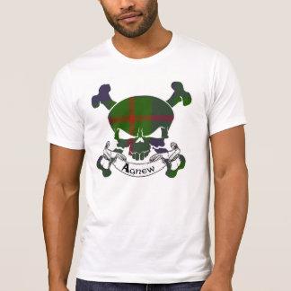 Agnew Tartan-Schädel T-Shirt