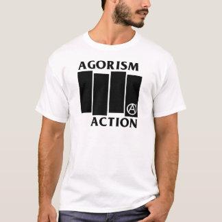 Agorism Anarchie-Aktion T-Shirt