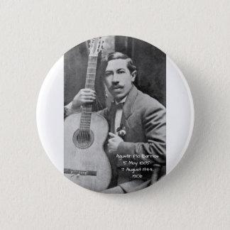 Agustín Pio Barrios 1910b Runder Button 5,1 Cm