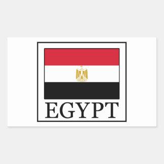 Ägypten-Aufkleber Rechteckiger Aufkleber