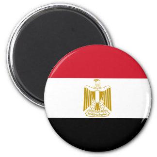 Ägypten-Flaggen-Magnet Runder Magnet 5,7 Cm
