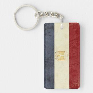 Ägypten-Flaggen-Schlüsselketten-Andenken Schlüsselanhänger