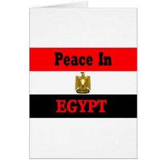 Ägypten Grußkarte
