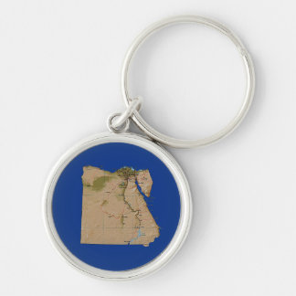 Ägypten-Karte Keychain Schlüsselanhänger