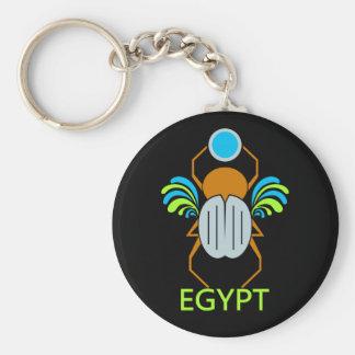 ÄGYPTEN keychain Standard Runder Schlüsselanhänger