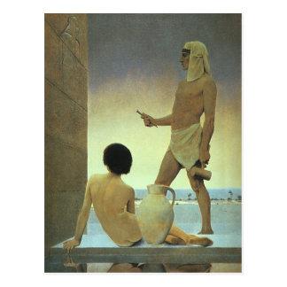 Ägypten, Maxfield Parrish) Postkarte